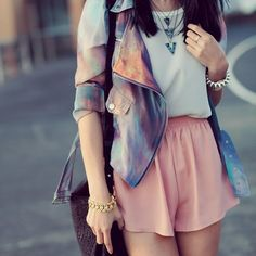 Galaxy Print Jacket | Sumally