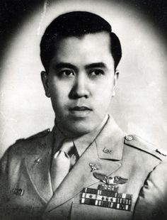 Capt. Jesus A. Villamor, one of he best Filipino pilots who shut down more Japanese planes during WW2 and he received the Distinguished Service Cross medal. Villamor Air Base (formerly Nichols field) named in his honor.