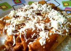 Enchiladas veracruzanas - Recetas Mexicanas - Comida Mexicana Real Mexican Food, Mexican Cooking, Enchiladas Mexicanas, Mexican Enchiladas, Beef Recipes, Cooking Recipes, Traditional Mexican Food, Best Mexican Recipes, Good Food