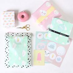 DIY Wrapping Gifts Inspiration     wrapping #eeflillemor #kadodesign