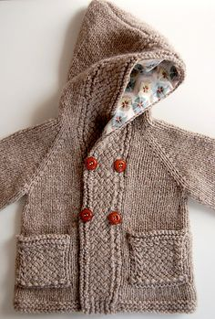Ravelry: Project Gallery for Latte Baby Coat pattern by Lisa Chemery