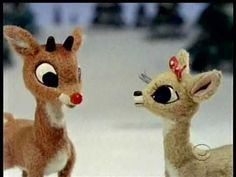 Rudolph - There's Always Tomorrow. The eyelashes. The bunnies, the birdies, the little bow. Yes yes yes.