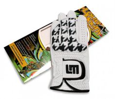 Mens & Womens Golfing Gloves by Loudmouth Golf - Oakmont Houndstooth/White.  Buy it @ ReadyGolf.com