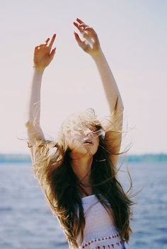 something about the way her hair flipped in the wind and her spirit shone in the dark