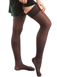 U S M C Emblem Womens Essential Cotton Thigh High Tube Sock