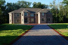 New Construction, East Hanover, Mansions, House Styles, Home Decor, Decoration Home, Manor Houses, Room Decor, Villas