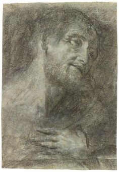 Head and Shoulders of a Bearded Man | Giovanni Girolamo Savoldo | The Morgan Library & Museum