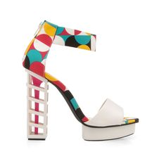 - Material: Leatherette - Heel Height: 5 in - Platform Height: 1 in - Fit: True to size