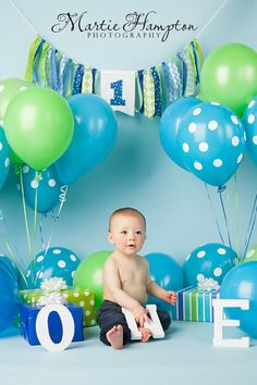 Preston is One!!! - Martie's Photography Blog