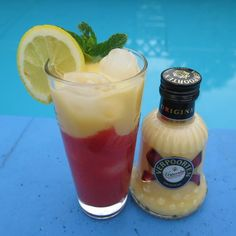 "Hibble Blog  "" Erdbeer - Pfefferminz Traum "" #smoothie #verpoorten"