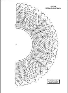 Bobbin Lace Patterns - Her Crochet Bobbin Lace Patterns, Loom Patterns, Embroidery Patterns, Crochet Chart, Crochet Motif, Crochet Edgings, Hairpin Lace Crochet, Lacemaking, Lace Heart