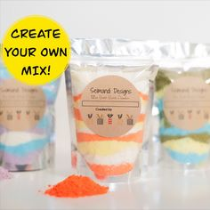 Experiment with different scents and colours to make your perfect bath bomb mix!  We offer more that 20 essential oils, all with different properties that help in specific occasions! Different Sizes Available! Etsy Handmade, Handmade Items, Handmade Gifts, Sell On Etsy, My Etsy Shop, Sodium Bicarbonate, Bath Salts, Bath Bombs, Experiment