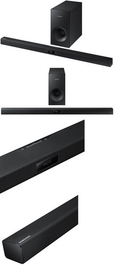 Home Speakers and Subwoofers: Samsung Hw-J355 120W Wireless Audio Soundbar W Subwoofer And Remote Brand New -> BUY IT NOW ONLY: $99.95 on eBay!