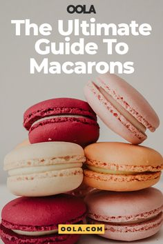 The Ultimate Guide To Macarons - Desserts - Basic French Macaron Recipe, Mini Macarons Recipe, How To Make Macarons, Making Macarons, Macaroon Recipes, Hot Dog Buns, Make It Simple, Sweet Tooth, Sweet Treats