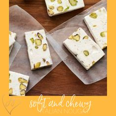How to make soft and chewy nougat better than any candy store. Passover Desserts, Passover Recipes, No Cook Desserts, Dessert Recipes, Dried Cherries, Dried Fruit, Purim Recipe, Food Terms, 5 Ingredient Recipes