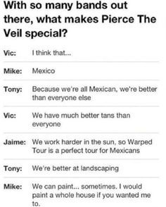 PIERCE THE VEIL funny - Google Search
