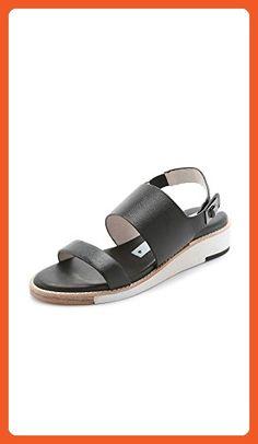 661dcb6d62bd Matt Bernson Moderna Two Band Sandals - Black