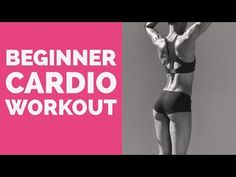 โปรแกรมลดสัดส่วนที่ดีมากสำหรับผู้เริ่มต้น Beginner cardio workout - YouTube