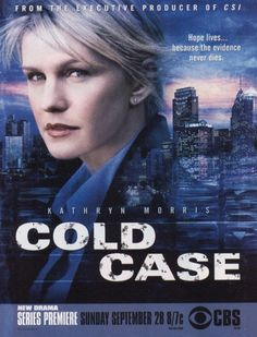 """The Philadelphia homicide squad's lone female detective finds her calling when she's assigned """"cold cases"""" -- older crimes that have never been solved"""