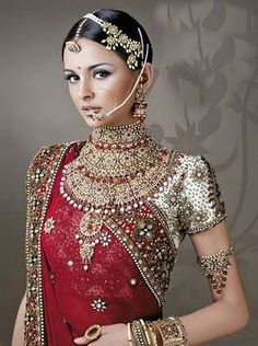 Beautiful Indian Bride with 'The Works'