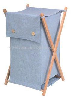 laundry basket wood - Google Search