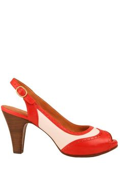 Love these red shoes