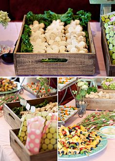 Sweet & Lovely Flower Garden Birthday Party // Hostess with the Mostess® Garden Birthday, 1st Birthday Parties, 2nd Birthday, Birthday Ideas, Buffets, Veggie Cups, Easter Party, Wedding Cupcakes, Fruit Kabobs
