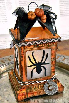Stamptramp: Halloween Luminary Tutorial