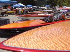 23' Miller Custom Boats. Figured birch deck.  Awesome