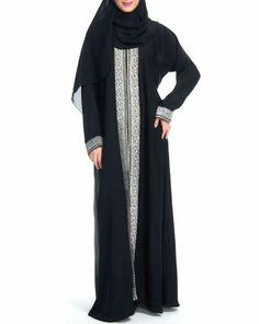 Abaya Pattern, Casual Hijab Outfit, Abaya Designs, Abaya Style, Islamic Clothing, Abaya Fashion, Abayas, Indian Wear, Kaftan