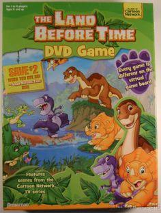 Land Before Time Virtual DVD Game Cartoon Network TV Series Poster Stickers NIB
