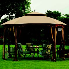 """My favorite glamping """"tent"""".  All that's needed are curtains for privacy, and lots of cozy plllows!"""