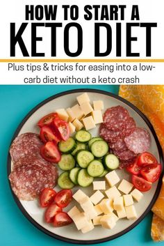 Starting the Ketogentic Diet? Here's how I eased myself into following the keto diet without experincing a keto crash! // Hey There, Chelsie Keto Meal Plan, Diet Meal Plans, Meal Prep, Comida Keto, Starting Keto Diet, Low Carb Vegetables, Fresh Vegetables, Keto Food List, Keto Diet For Beginners