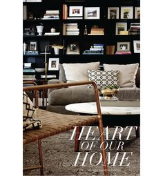 Our Home: The Family Room ~ Craft and Couture / colours