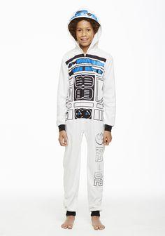 Jammin' Jammies Pajamas Unisex Kids Star Wars Onesie With Pillow Case. Star Wars Kids, Matching Pajamas, Star Wars Collection, Holiday Festival, Onesies, Fall Winter, Unisex, Stars, Sterne