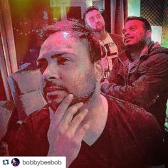 An awesome Virtual Reality pic! #Repost @bobbybeebob with @repostapp  ALREADY GUILTY FOR PIZZA SLICES.  No more haha.. I wonder what we should have for dessert!! Secret men's business...with @puneet4uall and @sandeeprajfilms !! . #international #signed #artist #recordlabel #executive #AnR #5050globalmuzik #VR #virtualreality #bmg #producer #singer #songwriter #bobbybeebob #bmgchrysalis #melbourne #australia #USA by puneet4uall check us out: http://bit.ly/1KyLetq
