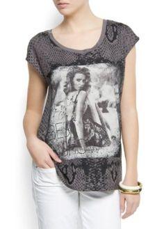 Mango Women's Printed T-shirt $29.99