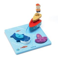 Kido Store: Wooden 3D Puzzle 123 Moby