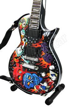 OZMiniGuitar - Miniature Guitar James Hetfield METALLICA Kustom Kulture, AU$23.90 (http://www.ozminiguitar.com/miniature-guitar-james-hetfield-metallica-kustom-kulture/)