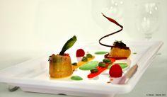 Fine dining at the Ambassador. Scallops, Fine Dining, Restaurant Bar, Vienna, Strawberry, Fruit, Food, Kitchens, Essen