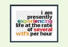 Funny cross stitch pattern experience life by SpruceXstitch