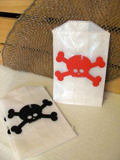 pirate birthday - goodie bags