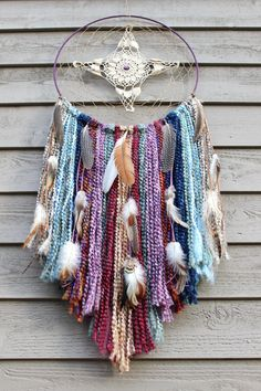 Blessed & Blissed Dreamcatcher/Vintage by LunaSageDesigns on Etsy