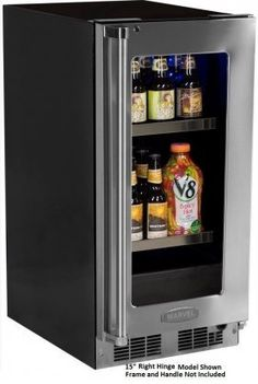 Marvel MP24BCF3LP 24 Professional Beverage Center with 20 Wine Bottle Capacity 2 GlideOut Adjustable Glass Shelves Glide Out Display Cradle Door Lock and Glass Door with Overlay Frame Left -- Check out this great product. (This is an affiliate link)