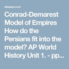 conrad demorist model Religion and empire: the dynamics of aztec and inca expansionism (new  studies in archaeology) [geoffrey w conrad, arthur a demarest] on amazon com.