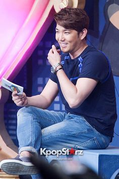MC Super Junior's Kangin at MBC Music Show Champion - May 28, 2014 [PHOTOS] http://www.kpopstarz.com/tags/super-junior