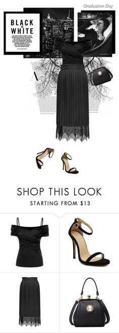 """Luli"" by stellina-from-the-italian-glam ❤ liked on Polyvore featuring Graduation"