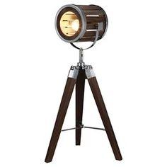 A&B Home Tri Pod Table Lamp - Dark Chestnut