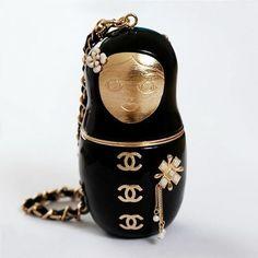 A Chanel Matryoshka doll. I want!