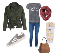 """""""Morning joe run"""" by nschappe on Polyvore featuring adidas Originals, ban.do and Sole Society"""